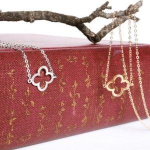 Delicate Gold 4-Leaf Lucky Clover Bracelet